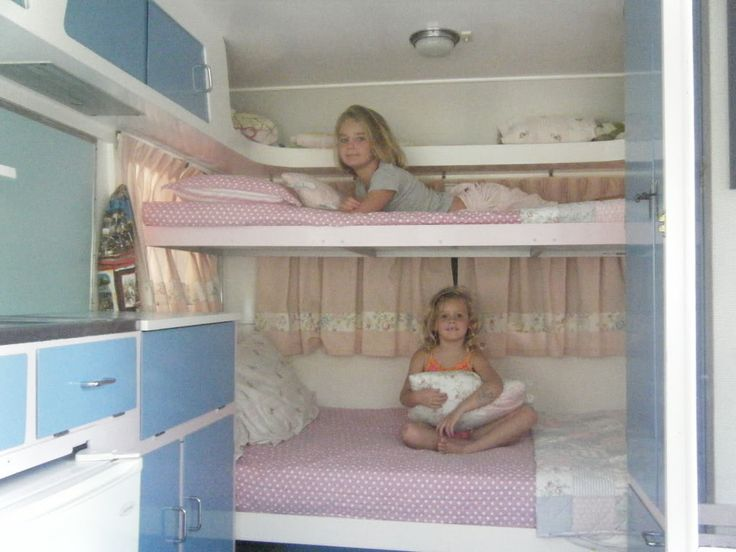 How to make bunk beds in your caravan