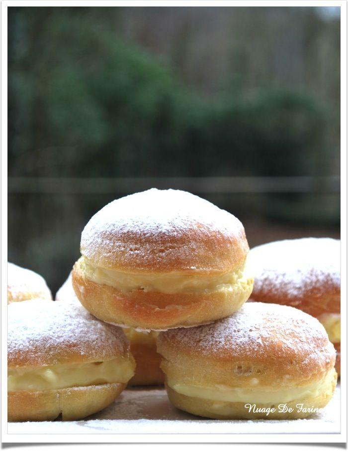 Boules de berlin au four ou non sans lactose pinterest pain d 39 epices and berlin - Recette boule de berlin moelleuse ...