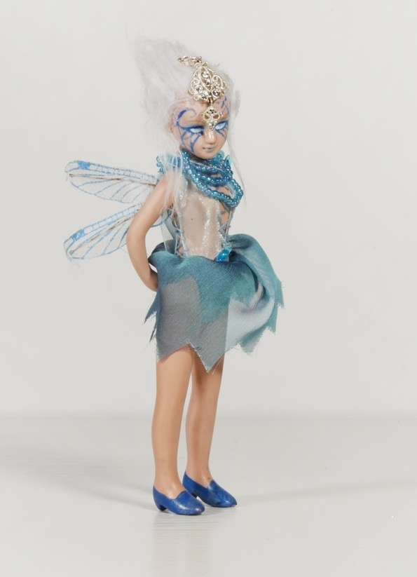 Cold Fairy - an original art porcelain doll by sinestro (SK ART DOLLS).