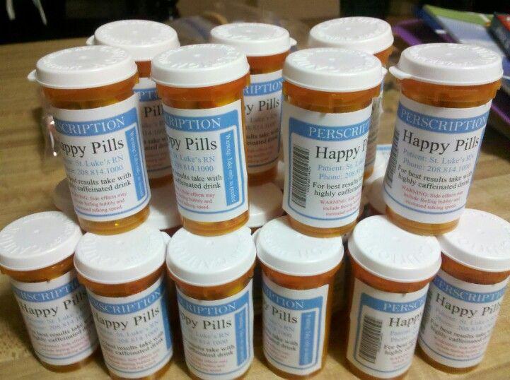Happy pills for nurses week gift - MM | DIY Gift Ideas ...