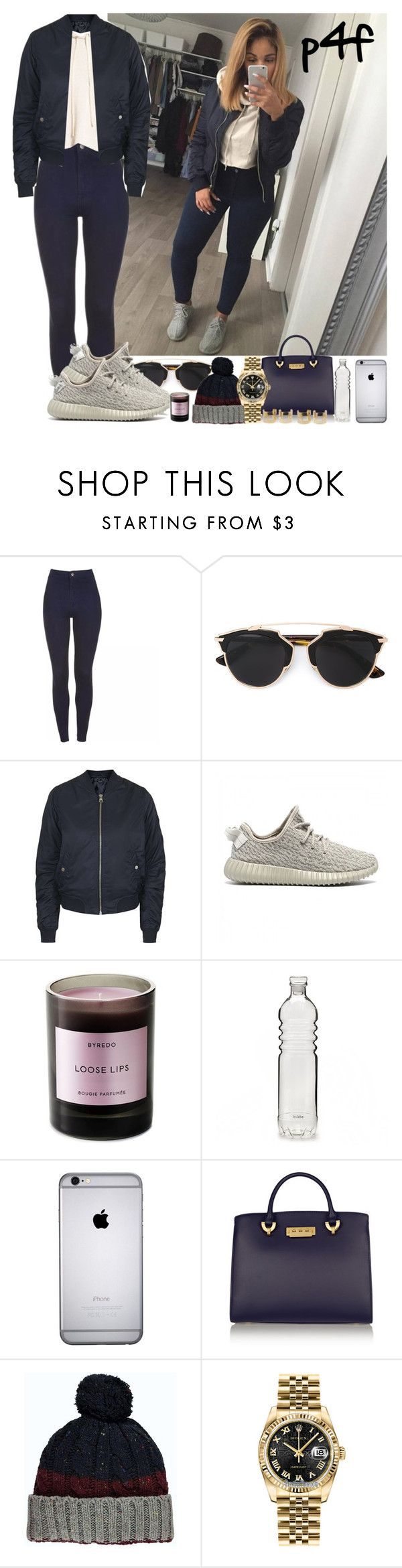 """""""Passion 4Fashion: GG"""" by shygurl1 ❤ liked on Polyvore featuring Christian Dior, Topshop, adidas Originals, Byredo, ZAC Zac Posen, Rolex, Wet Seal, women's clothing, women's fashion and women"""