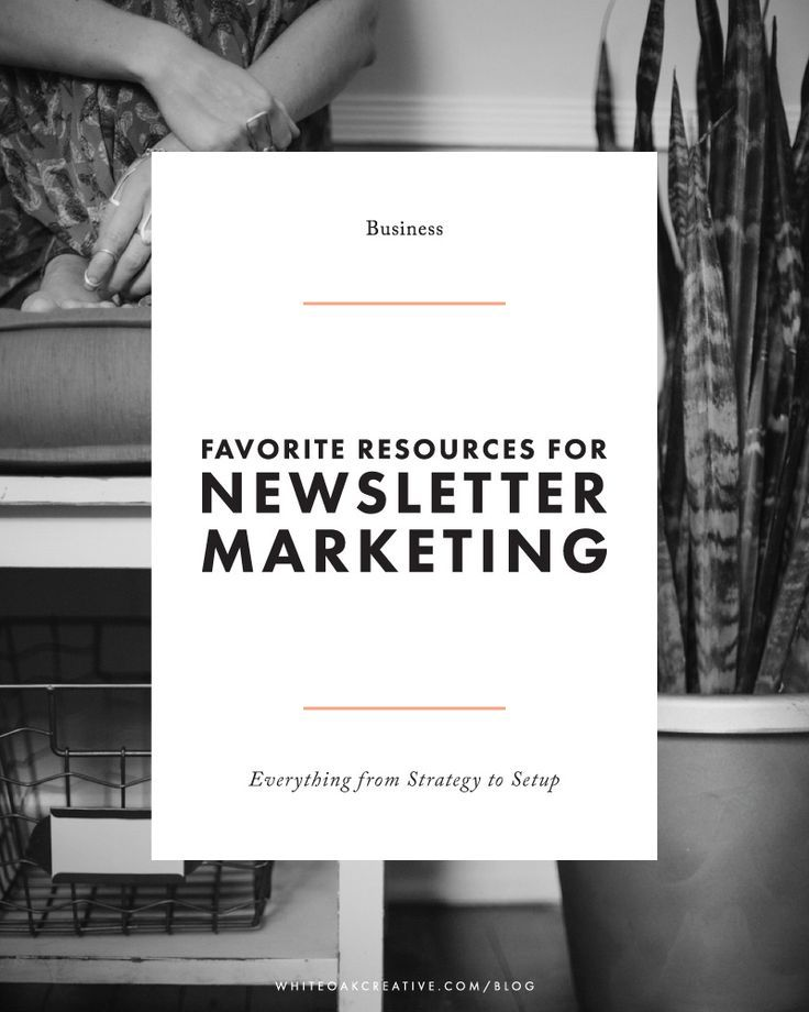 Comprehensive list of resources + guides for setting up and strategizing your email newsletter marketing approach, blogging tutorial, blog guide, blog design