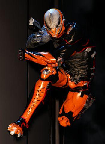 Excalibur Proto Armor Skin Warframe
