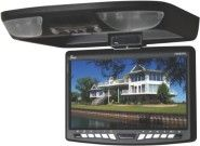 Tview T90DVFD-BK 9-Inch Car Flip Down Monitor with Built in DVD Player (Black)