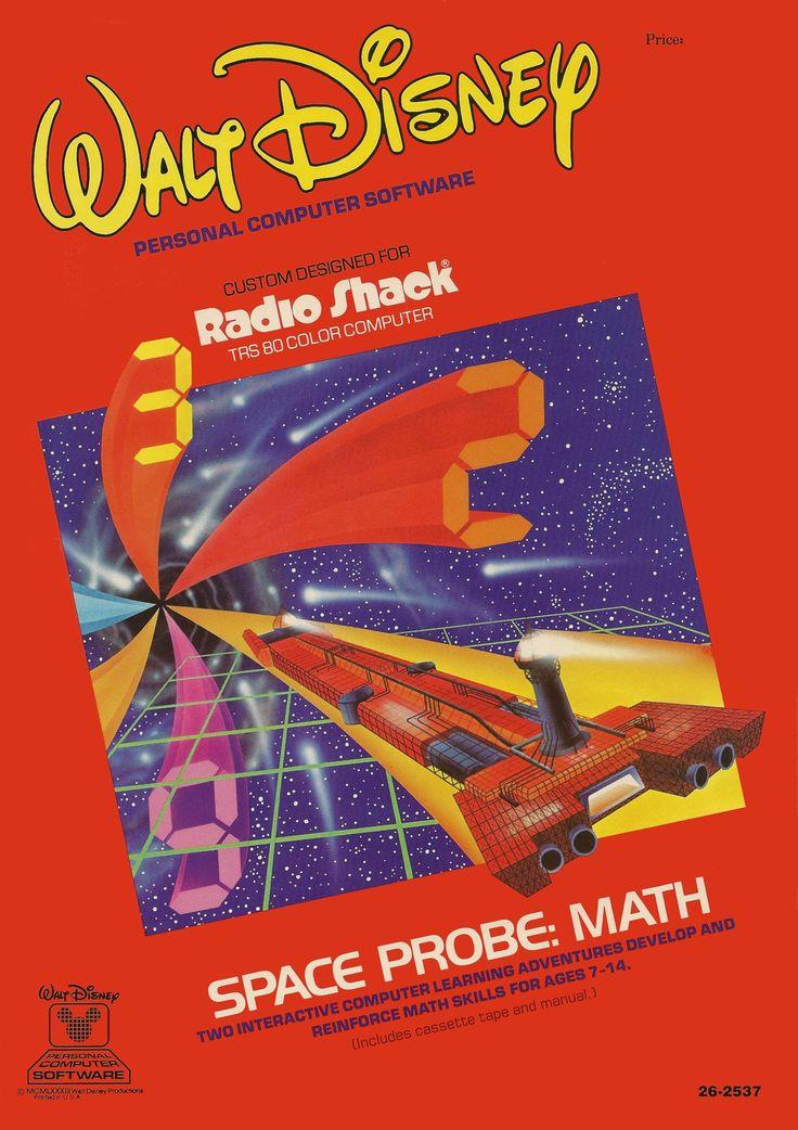 Walt Disney Personal Computer Software Radio Shack Trs 80 Color - computer software skills
