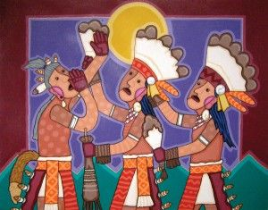 Blessing The Chiefs  by Jesse Hummingbird  kp