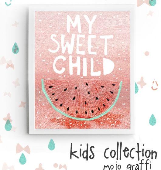 Skandynawski styl DESIGN dla dzieci MY SWEET CHILD