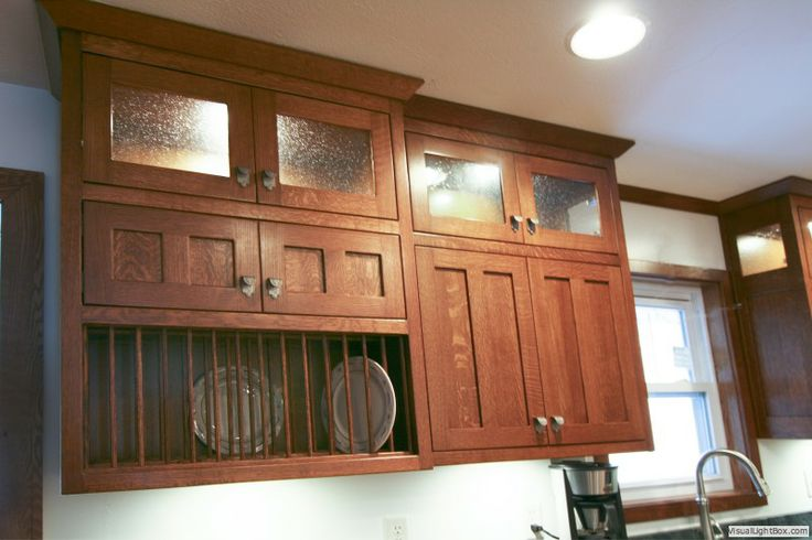 Quatersawn Oak Kitchen Custom Made Quarter Sawn Oak