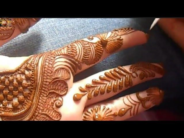 Full Hand Eid Special Mehndi Design 2018 Latest And Easy Henna