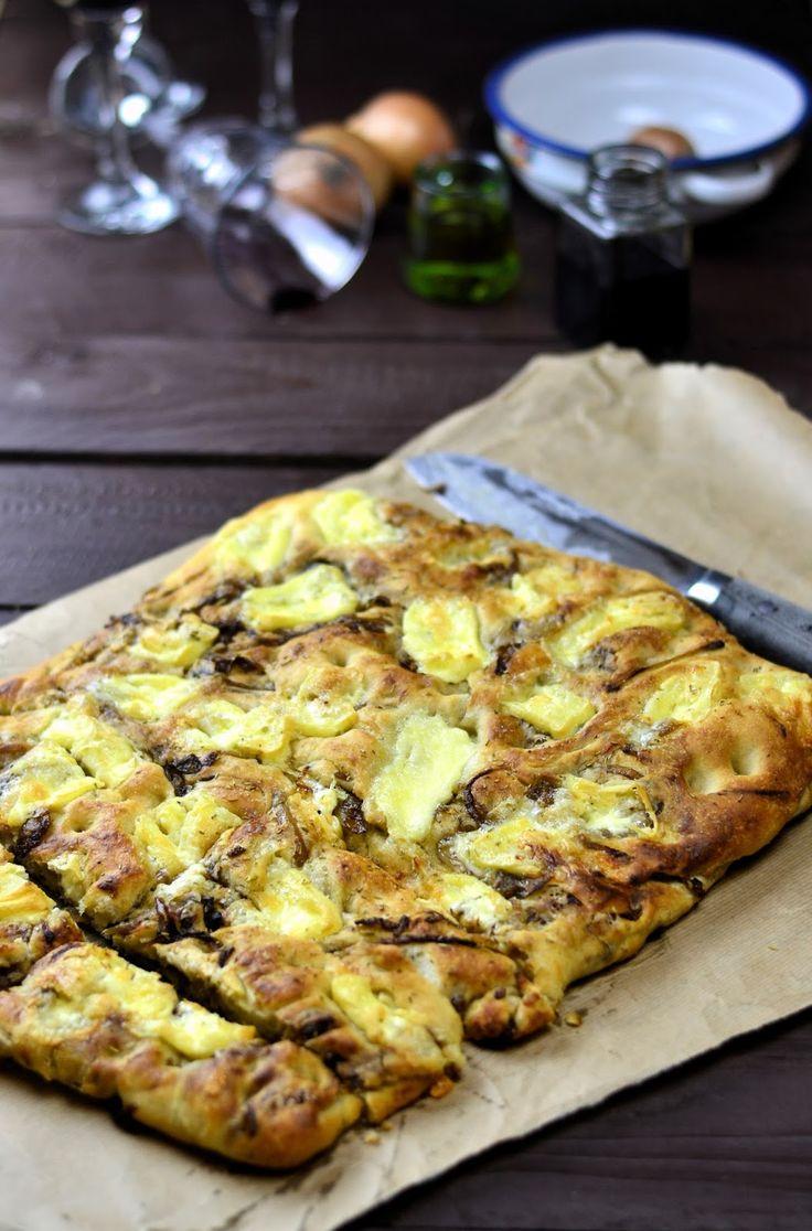 Experimente aus meiner Küche: Bread Baking (Fri)day: Focaccia mit Balsamico-Rotw...