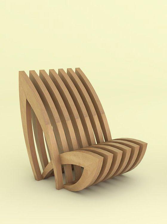 Petal Chair on Behance