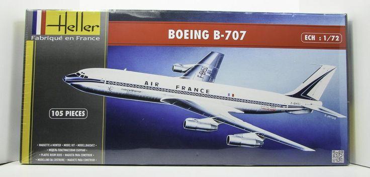 Heller 80452 Boeing B-707 1/72 New Airplane Model Kit - Shore Line Hobby