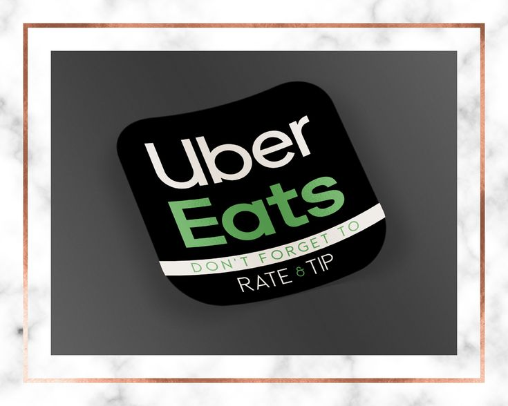 Uber eats delivery stickers bag stickers delivery stickers