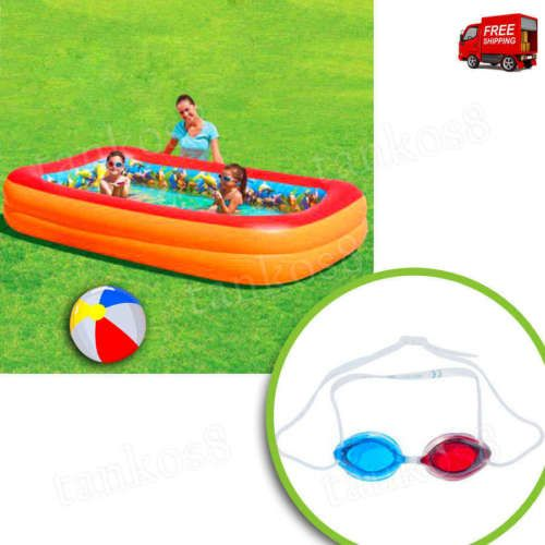 3D-Effects-Inside-Kids-Pool-Inflatable-Swimming-Pool-Special-Goggles-Play-Water