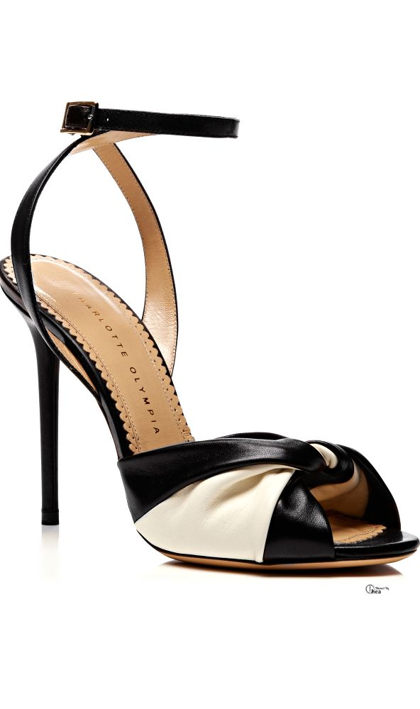 Charlotte Olympia ● 2014, Twist Leather Sandals