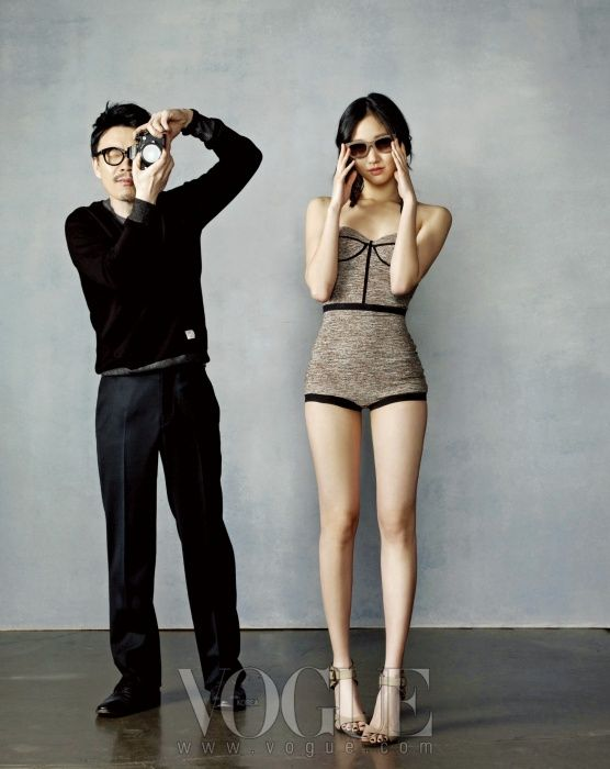 VOGUE Korea MAY 2012 with Goeun Kim, Jiwoo Jung(Movie director)