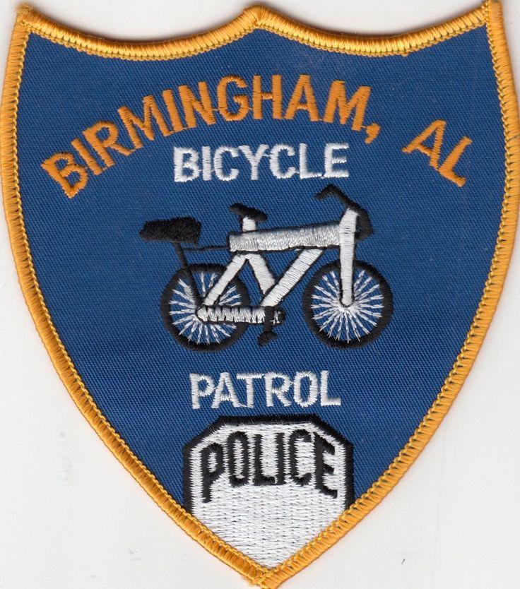 Birmingham Police Bicycle Patrol Shoulder Patch Alabama Al • $5.29 - PicClick