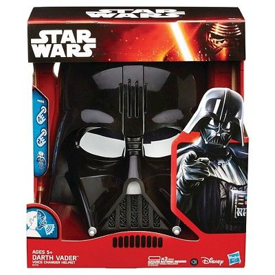 Star Wars The Empire Strikes Back Darth Vader Voice Changer Helmet, Boy's, Size: Small
