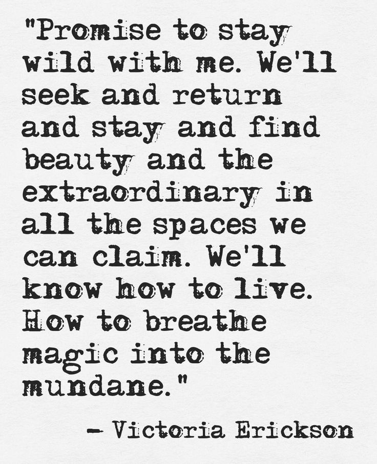 ...breathe magic into the mundane.