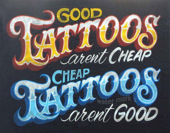 Tattoo Shop Policy Print ,art TP2