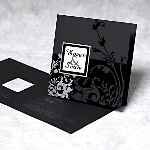 Black and White | Wedding | Invitations