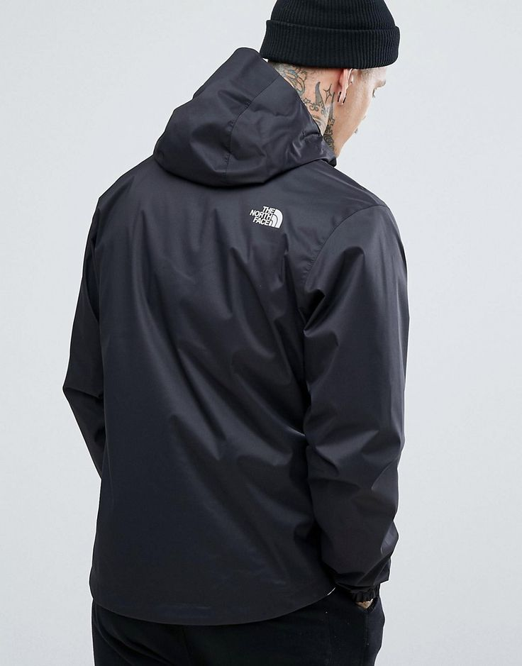 The North Face Quest Lightweight Waterproof Jacket in Black - Black