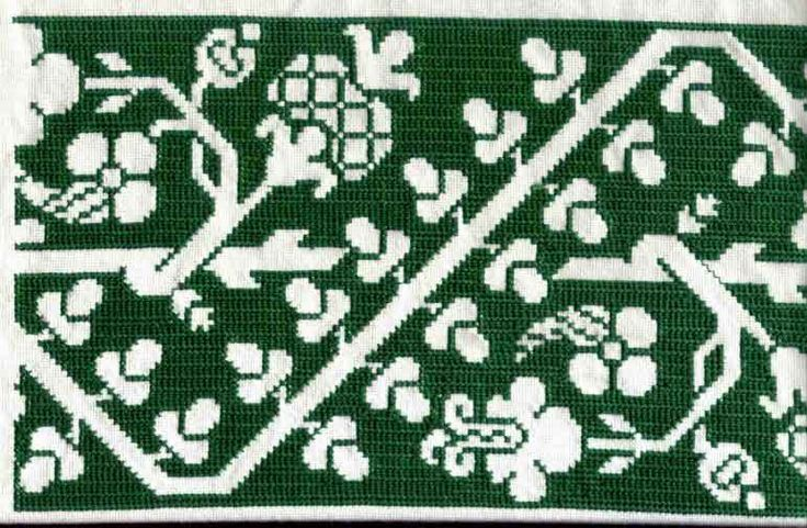 Assisi needlepoint, Flowers of the Needle -- Historic (medieval) needlepoint articles and charts
