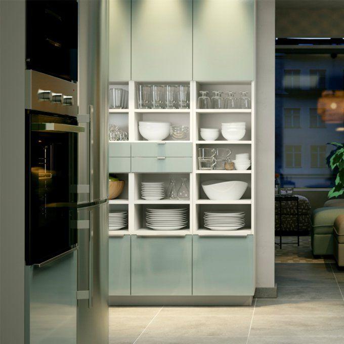 10 Idees Deco A Piquer Aux Cuisines Ikea Cuisine Ikea Ikea Rangement Ouvert