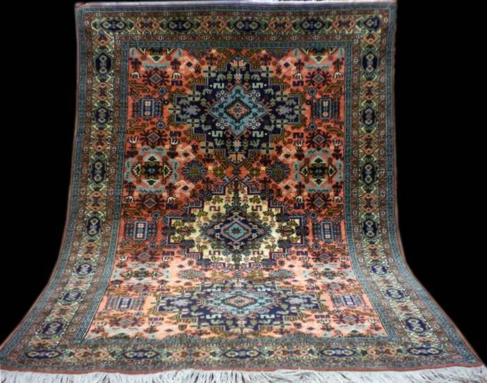 belleza en alfombra un arte espacio hindu y