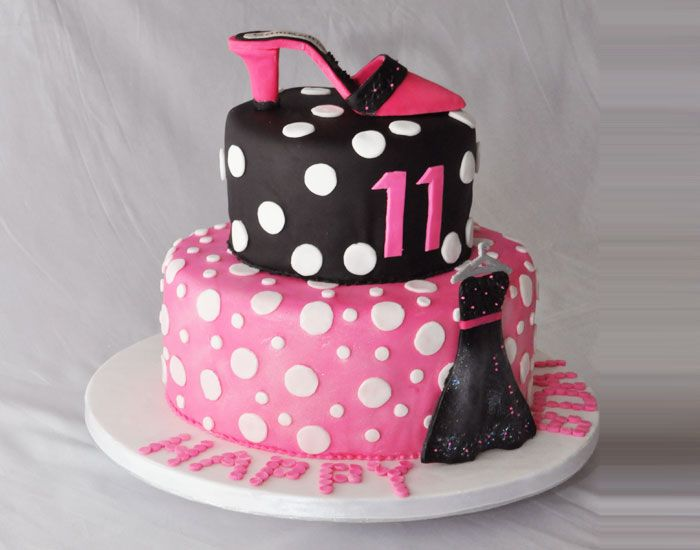 11 Yr Old Birthday Cakes Girlie Girl S Birthday Cake