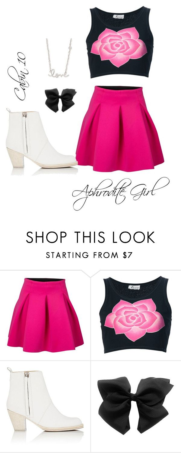 """""""Daughter of Aphrodite"""" by alexandra-jackson-potter on Polyvore featuring Krizia, Acne Studios and Sydney Evan"""