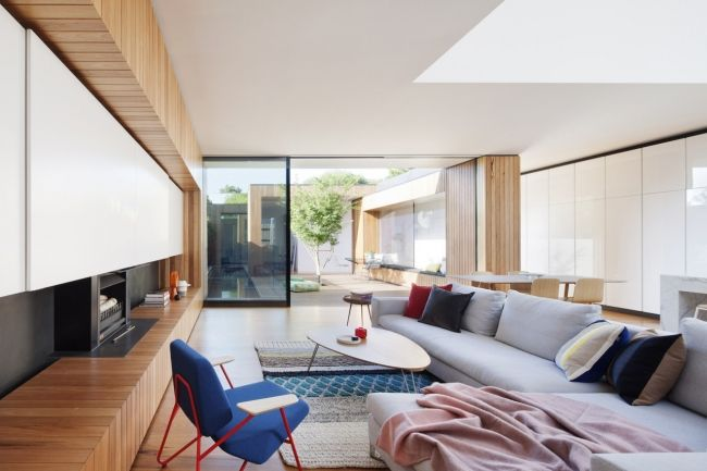 The best residential interior decoration of 2015: Matt Gibson Architecture + Design for Courtyard House, Vic