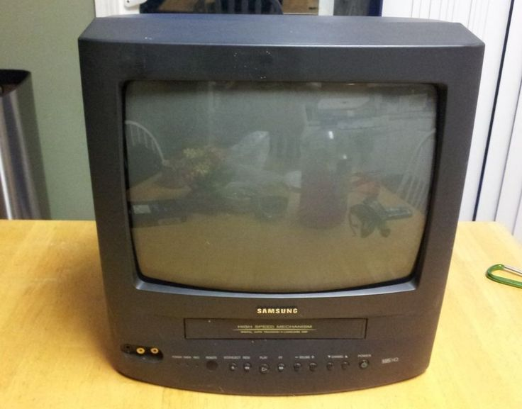"""13"""" Inch Samsung TV / VCR Combo CRT Television CX01342 ~ Watch Video"""