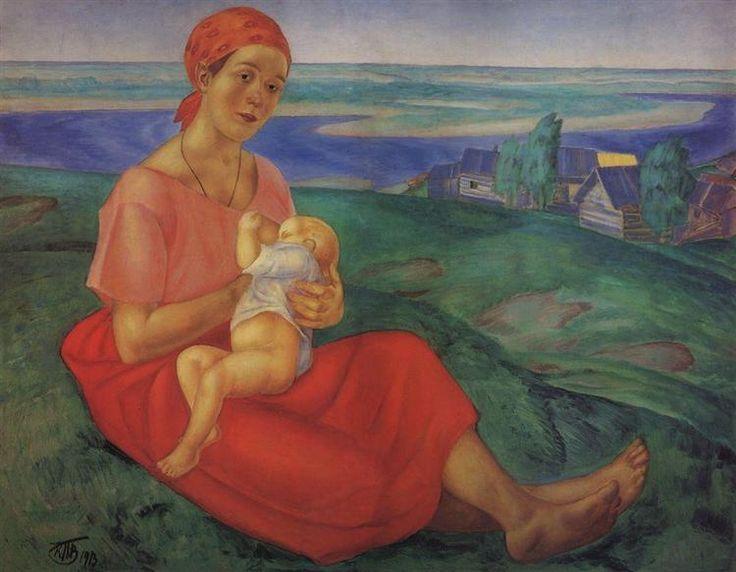 Мать - Кузьма Петров-Водкин 1913