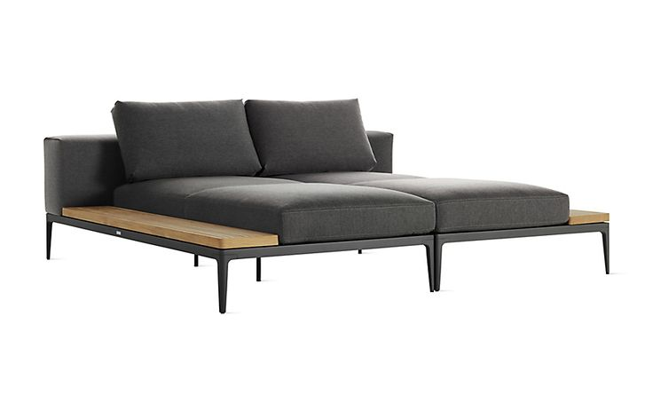 Grid Double Chaise