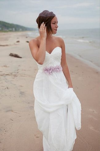 449 best images about vow renewal dresses on pinterest for Floral beach wedding dresses