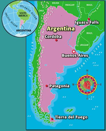 a history and geography of argentina Argentina - language and religion: spanish is the national language, although in argentina it is spoken in several accents and has absorbed many words from other.