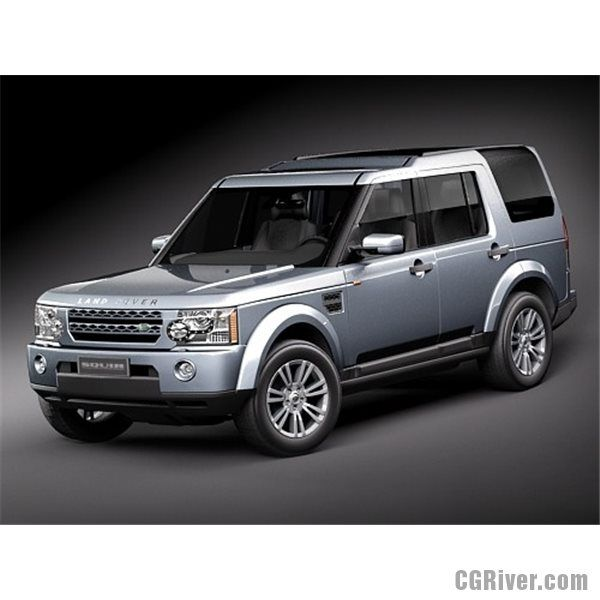 2012 Land Rover Discovery 4 For Sale: Land Rover Discovery LR 4 - 3D Model