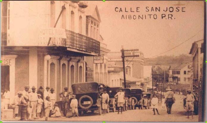 Calle San Jose, Aibonito   Puerto Rico