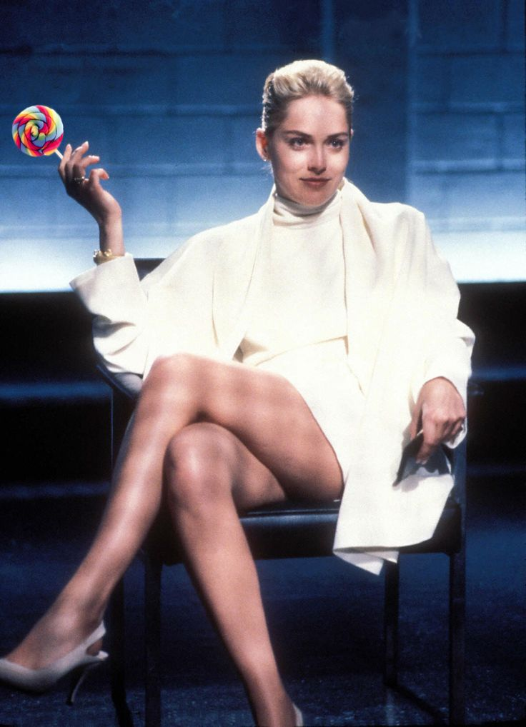 Dear Sharon Stone, you're sweet when you quit smoking.