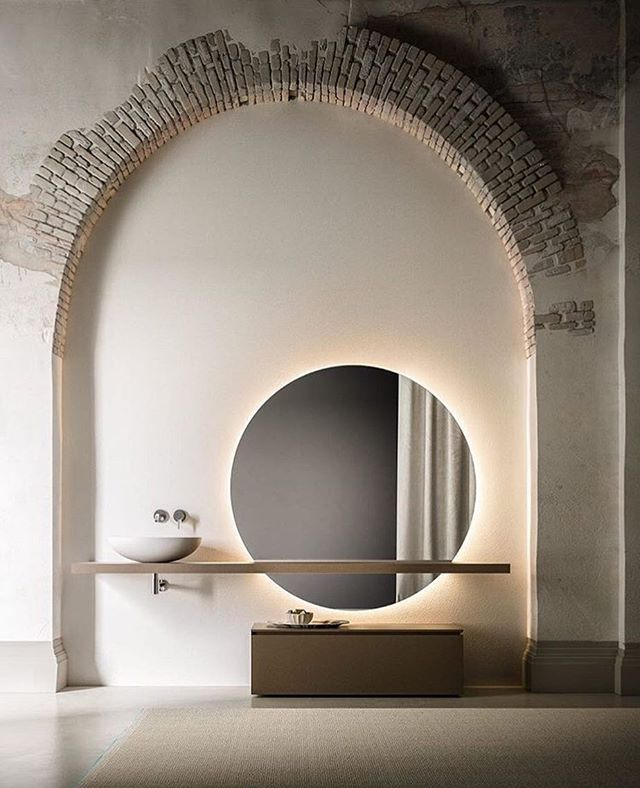 Stunning Bathroom Design By Itlas Pavimenti Studiomalisan Epic Visuals By Nudesignsrl Bathroom Mirror Bathroom Vanity Designs Amazing Bathrooms Interior