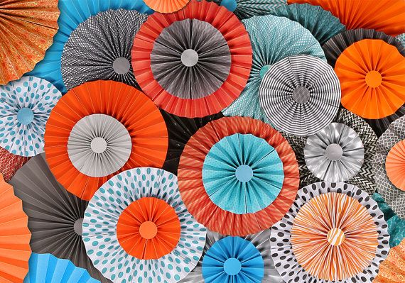 Hey, I found this really awesome Etsy listing at https://www.etsy.com/listing/189715177/10pc-set-of-teal-orange-gray-paper