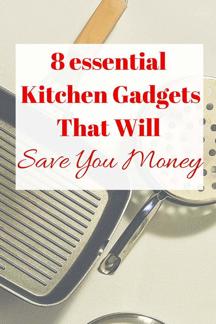 Kitchen Gadgets come in all shapes in sizes - here are my top picks for those that will also save you money as well as reducing waste and helping you become more Eco friendly.