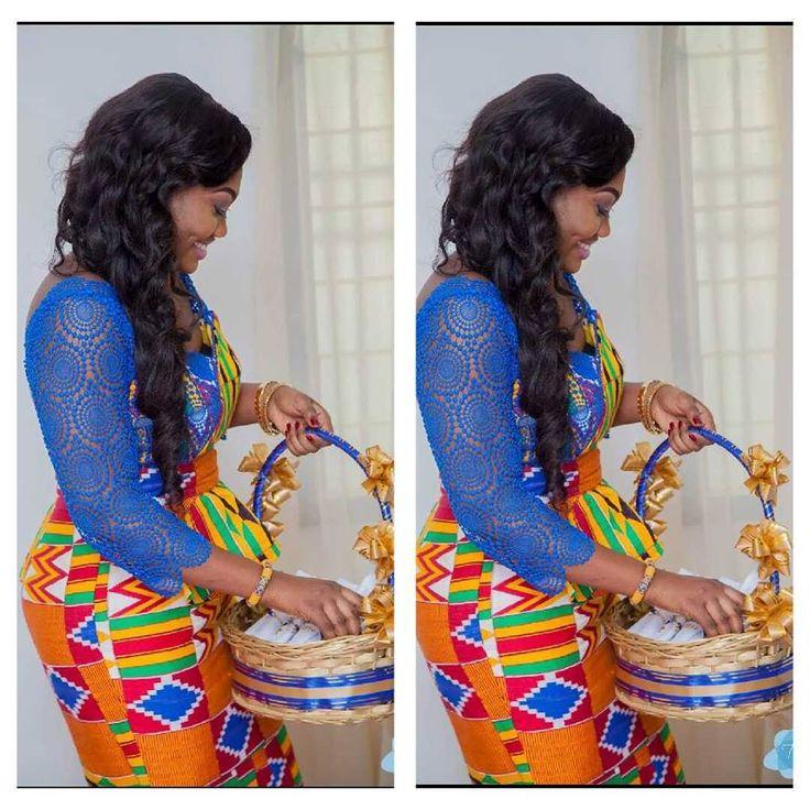 A Ghanaian bride Repost from I Do Ghana Facebook Photo Credit: Tixs Multimedia