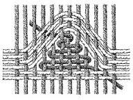 Image result for eccentric tapestry weaving