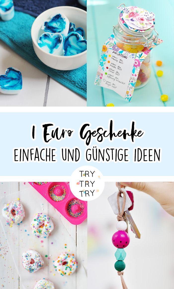 1 Euro Geschenkideen Einfache Und Gunstige Ideen 1 Gunstig