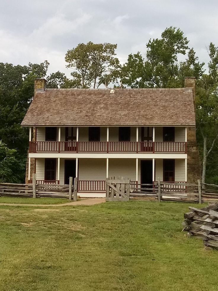 Elkhorn Tavern, Pea Ridge, AR. 9212019 House styles