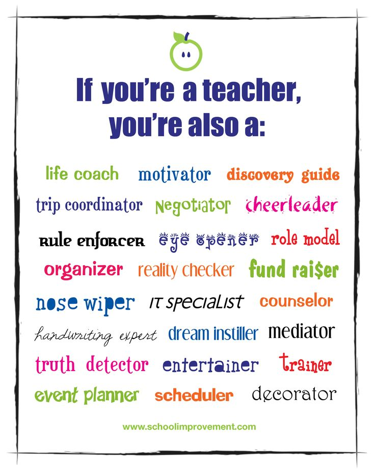 30 best images about Teachers as students role models on Pinterest ...