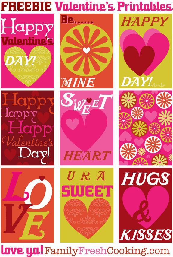 131 Best Valentine S Day Printables Amp Diy Ideas Images On