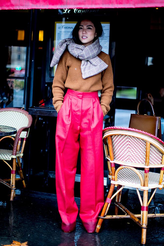 Parisian showgoers have street style down to a science. Here are some of the best looks so far from the Fall 2017 season.